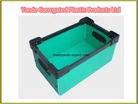 plastic handles pp corrugated boxes manufacturer