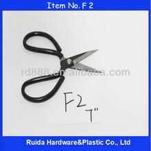 [Ruida New Items] 7E Soft handle scissor Utility Industrial Rubber Shear F2