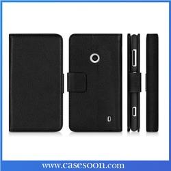 For Nokia Lumia 520 Case Leather Lumia 520 Luxury Case Cover For Nokia Lumia 520 Flip Case with Stand Function