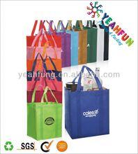 Luxury full color woven shopping bag