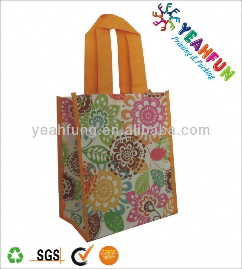 Customer disign cheap folding shopping bag