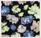 polyester printed Korea chiffon fabric/ Korea velvet fabric printing