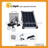12v mobile solar power pv system OS-S1201 mini led solar home kit 10w