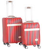 pc abs luggage suitcase set on wheels tsa lock