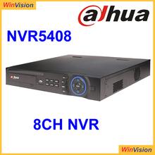 8Channel 1.5U Dahua NVR5408 support 8ch 1080p ip camera recording