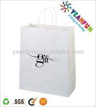 Custom printing custom shopping paper bag