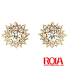 crystal beauty pageant earrings WHOLEALE JEWELRY FASHION ORNAMENT ACCESSORY