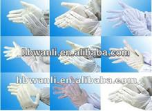 Cotton gloves,CE/ISO13489/FDA/Nelson