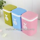 plastic cartoon dustbin,colourful dustbin,mini dustbin