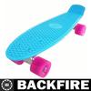 Backfire penny skateboard.nickel cruisers complete skateboard.plastic penny style mini cruiser skate board.fish skateCE EN13613