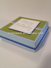 Happy birthday wholesale pizza delivery box for scooter