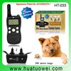 LCD Remote bark control electronic shock dog training collar