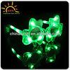 Blinking Gifts LED Flashing Light Up Fashionable Shamrock Decoration Sunglasses, LED Plastic Sun Glass