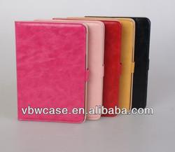 pu leather case for ipadmini