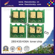 (CS-UHU2) universal laser printer toner reset chip for HP CE 85A 85 CC 35A 36A 35 36 P1505 P1005 P1006 P1102 P1102W bk 1.6K