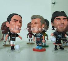 Mini Football Figure Model;Small Football Player Figure Toy;Custom Plastic Figure Toy Maker