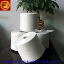 100% polyester yarn, auto cone CV yarn, rw polyester yarn