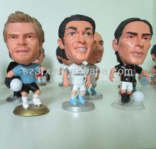 Custom Football Player Plastic Toy Figure/OEM Plastic Toy Figurine Maker