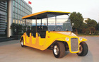 8 searter Luxury Electric old golf carts With custom bodies optional CE Certificate DN-8D