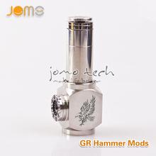 The newest high-end electronic cigarette hammer+mod jomotech mod