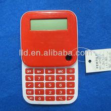 610804 Plastic Battery Power Rotating Calculator With Calendar