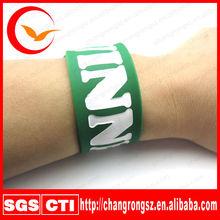 promotion silicone bracelet gift,popular silicone rubber slap bracelet,popular power bands and silicone bracelet