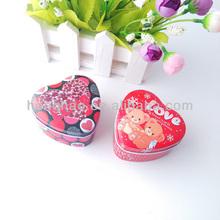 2014wholesale luxury lovely slide candy tin gift box