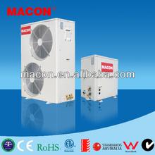 high efficency heat pump water heater split , heat pump r410a, air source heat pump split