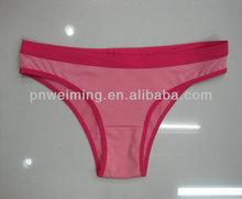 pretty hot girl wear g string sexy thongs underwear