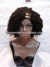 In stock modern braziian hair u part wigs for sale