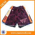meninas tecido de malha reversível lacrosse shorts