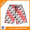 sublimation print fashion 100polyester lacrosse shorts