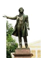 bronze famous artist soldier sculpture
