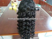 High Quality Heat Resistant Fiber Fashion Wavy Sythetic Wig