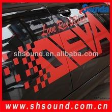 Hot sale color vinyl sticker paper