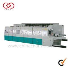 GIGA LX 707 CHINA shanghai used corrugated carton flexo printing machine