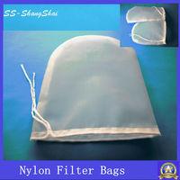 60 micron food grade drawstrings nutmilk mesh bag/nutmilk filter bag/ nutmilk nylon bag