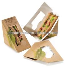 Custom Kraft Paper Sandwich Packaging