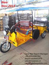 2014 INDIAN PASSENGER E TRICYCLE,TUKTUK,BATTERY OPERATED RICKSHAW FOR KALKATA MARKET