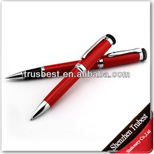 Red Christmas metal pen