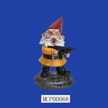Wholesale New Items Angry Funny Garden Gnome