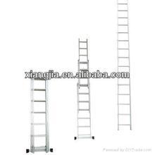 aluminum fire escape extension ladders extendable aluminium ladder for construction tool