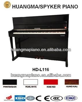 Digital Piano 88 keys Black Polish Electric Piano HUANGMA HD-L116 upright digital piano musical instrument for midi keyboard usb
