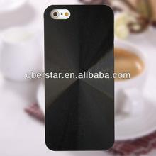 New for iphone5s aluminium chrome CD pattern hard back cover case