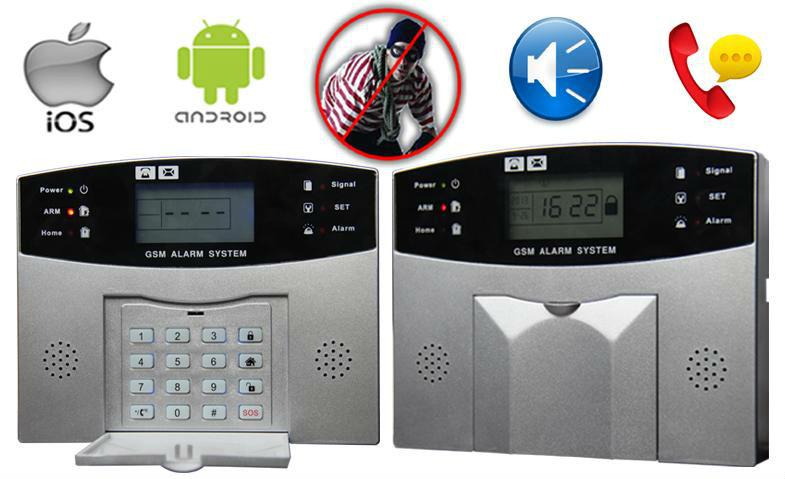 Управление сигнализация анти- кражи со взломом с жк-экраном и клавиатура. g