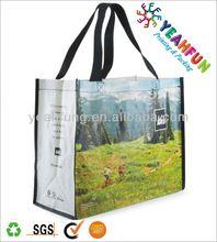 Eco-friendly laminated bopp pp woven bag