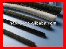 price of pile weather stripe for sliding aluminium profile 4.7*5