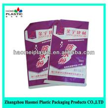 2014 kraftpapierkaschierung pp woven sack reis 50kg, zementsäcke, weißer reis beutel aus der chinesischen fabrik