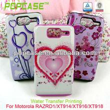 Designer Cell Phone case for motorola razr d1 XT914 XT916 XT918