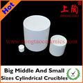 gran tamaño medio y pequeño crisoles cilíndricos